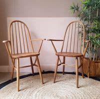 Ercol Windsor Quaker Dining Chairs